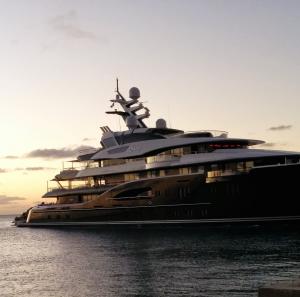 Yacht in Saint Martin